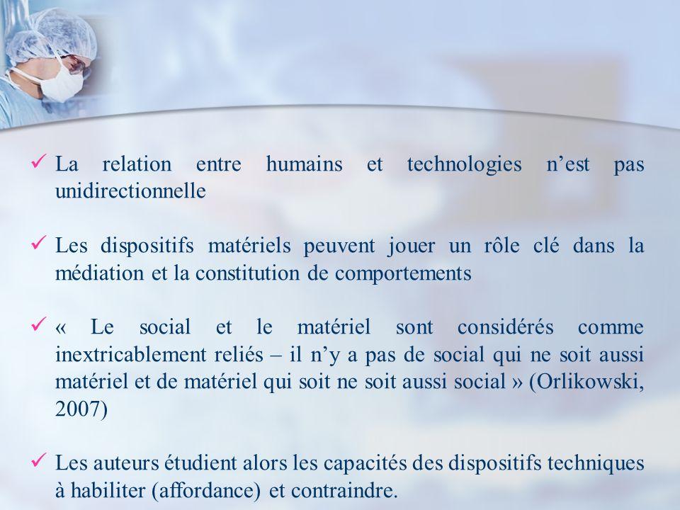 La relation entre humains et technologies n'est pas unidirectionnelle