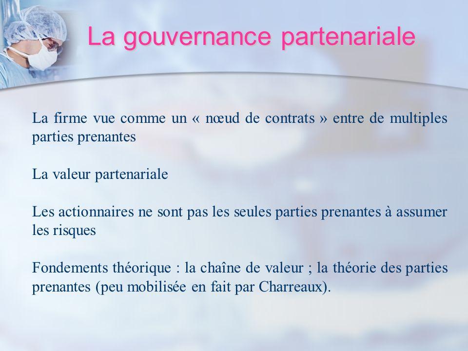 La gouvernance partenariale