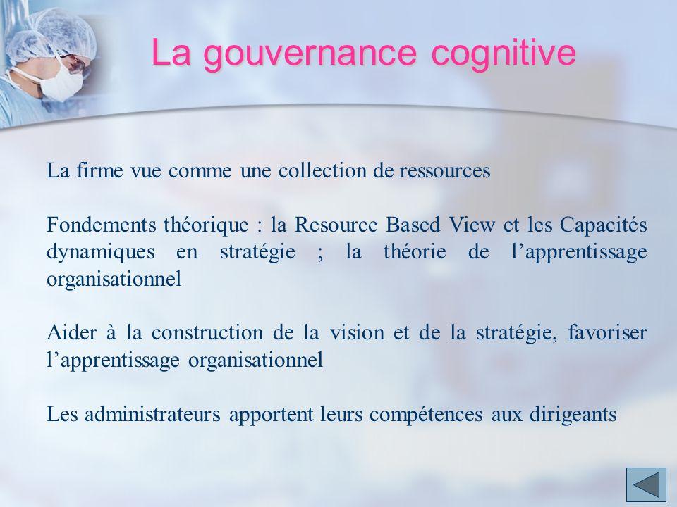 La gouvernance cognitive