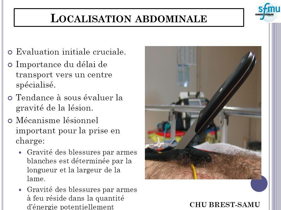 Localisation abdominale