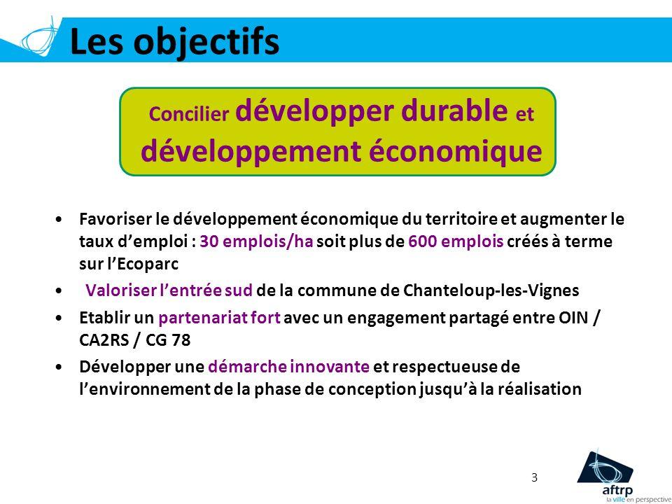 Concilier développer durable et développement économique