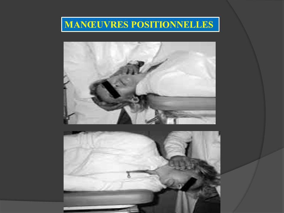 MANŒUVRES POSITIONNELLES