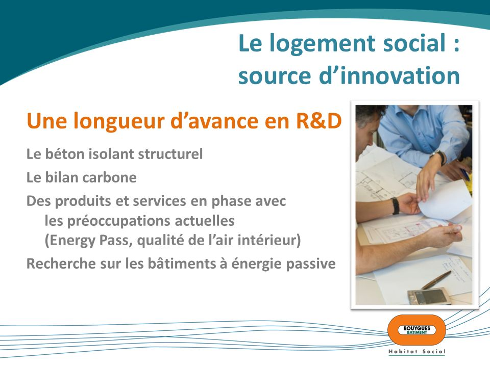 Le logement social : source d'innovation
