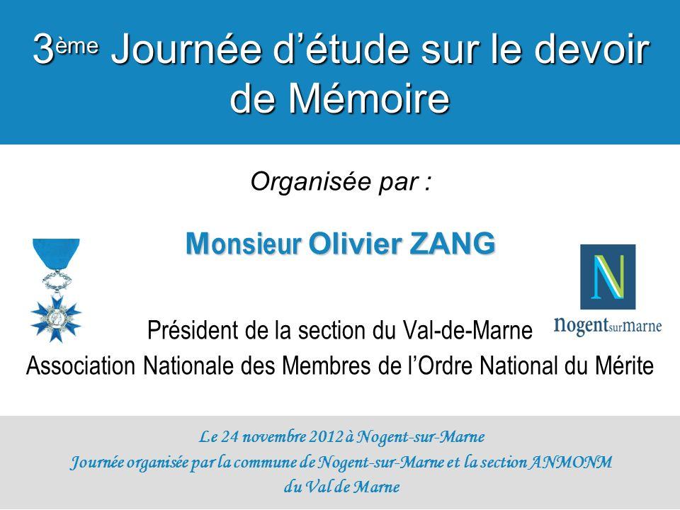 Le 24 novembre 2012 à Nogent-sur-Marne