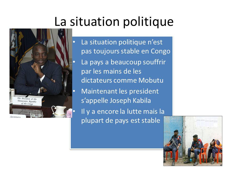 La situation politique
