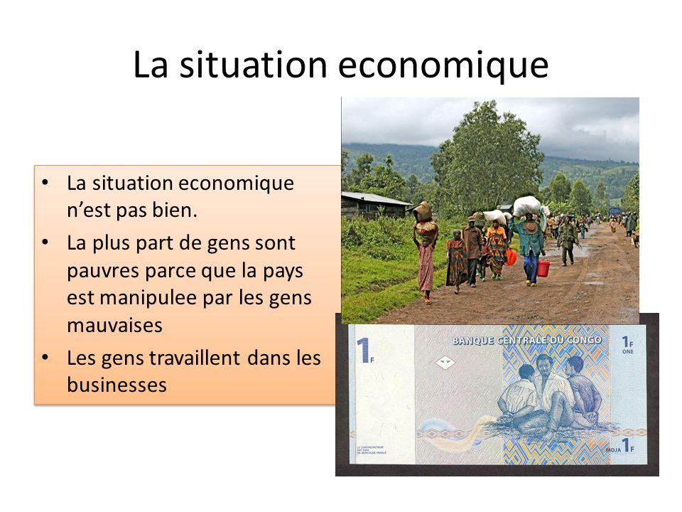 La situation economique
