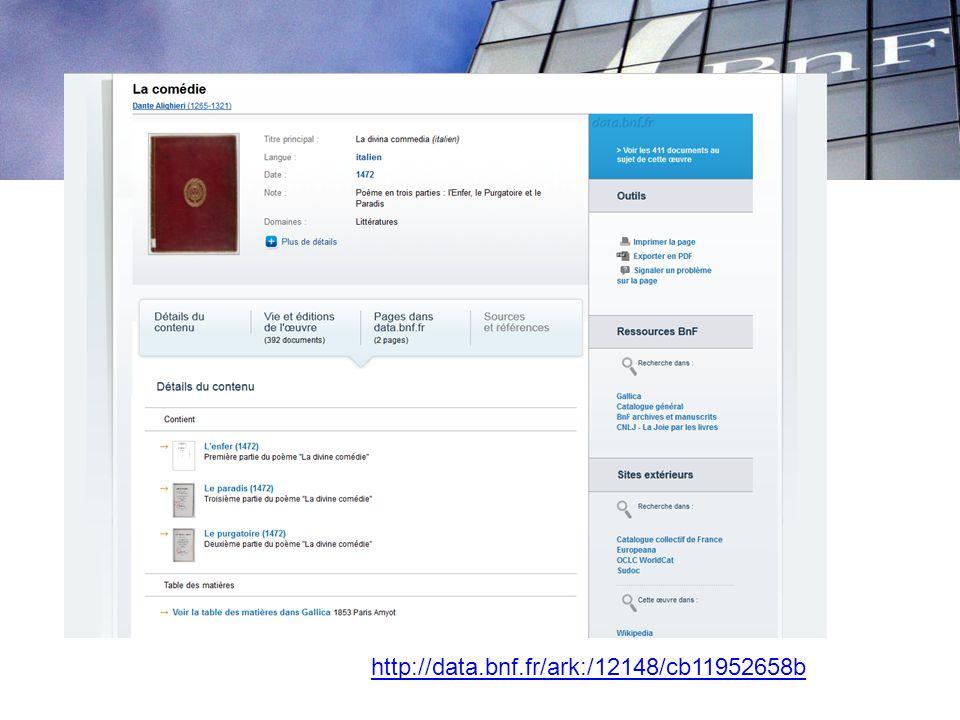 LIENS documents numérique – documents bibliographiques