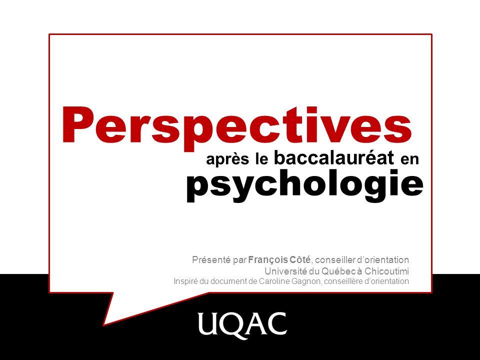 Perspectives psychologie après le baccalauréat en