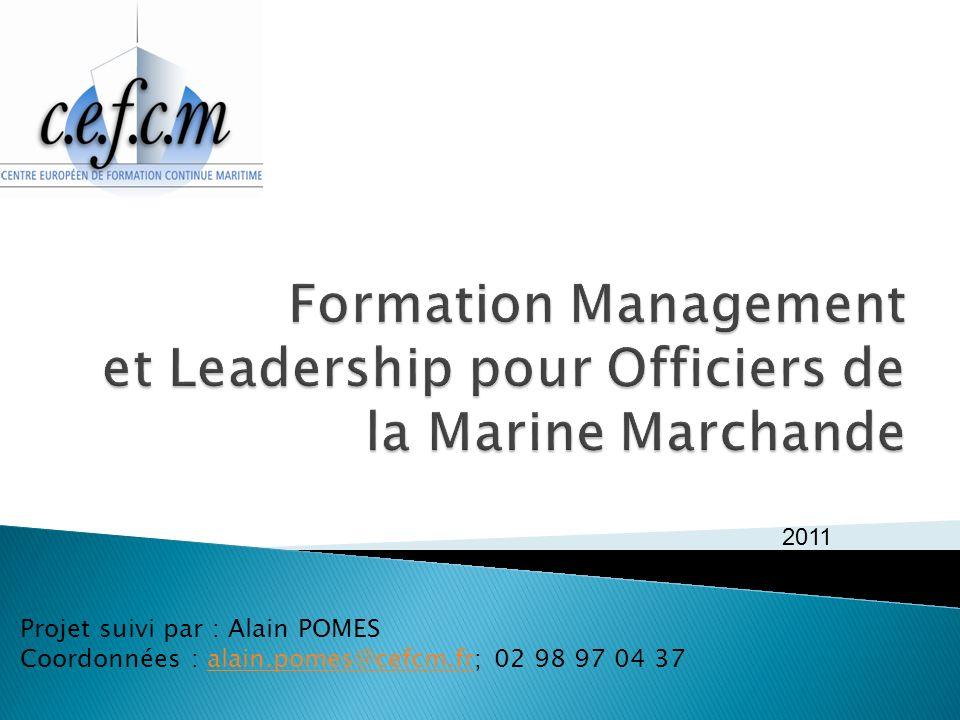 Formation Management et Leadership pour Officiers de la Marine Marchande