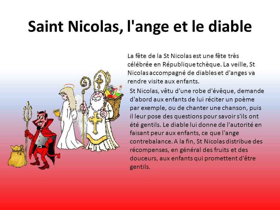 Saint Nicolas, l ange et le diable