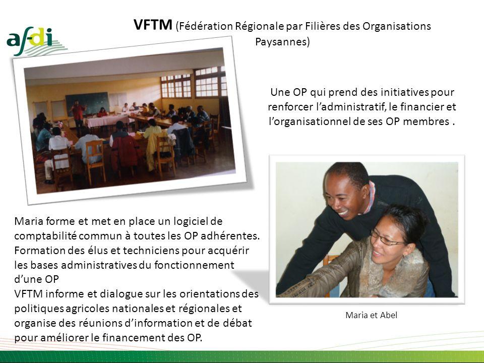 VFTM (Fédération Régionale par Filières des Organisations Paysannes)