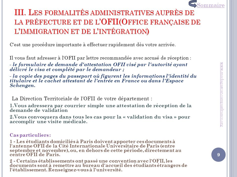 Centre de documentation ppt t l charger - Office francaise d immigration et d integration ...