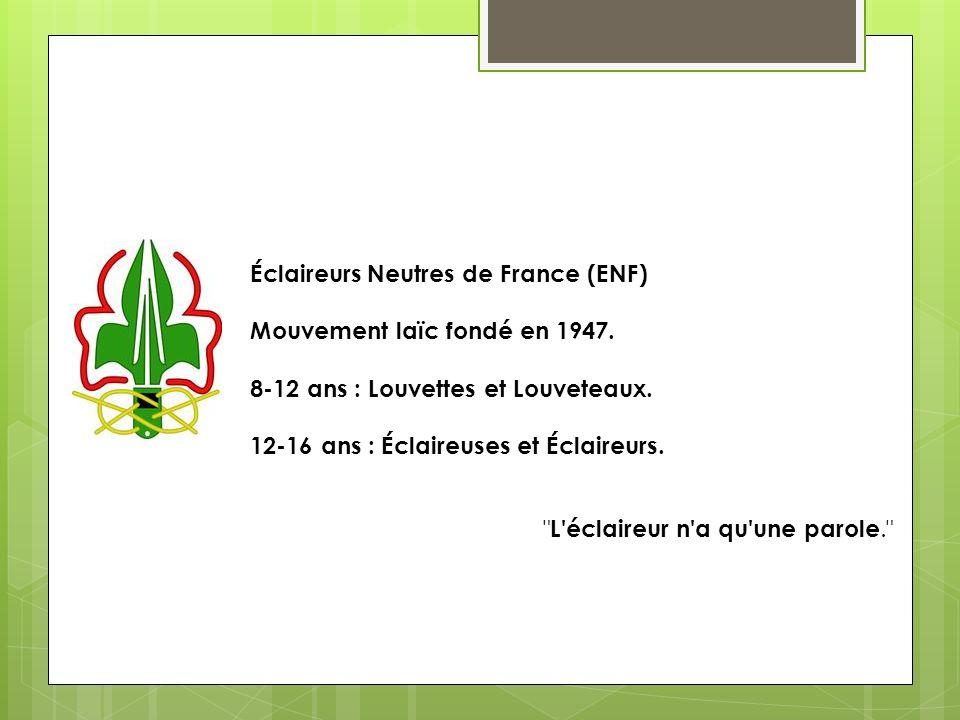 Éclaireurs Neutres de France (ENF)