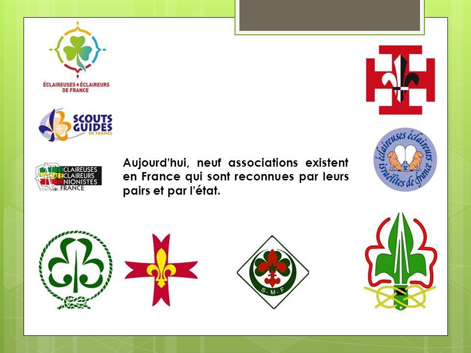 Aujourd hui, neuf associations existent en France qui sont reconnues par leurs pairs et par l état.