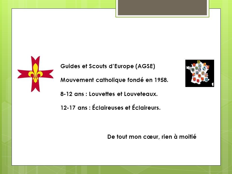 Guides et Scouts d'Europe (AGSE)