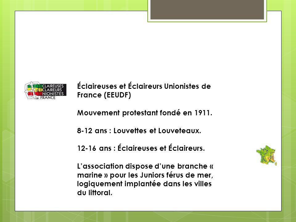 Éclaireuses et Éclaireurs Unionistes de France (EEUDF)