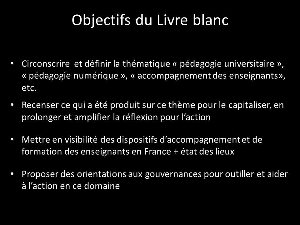Objectifs du Livre blanc
