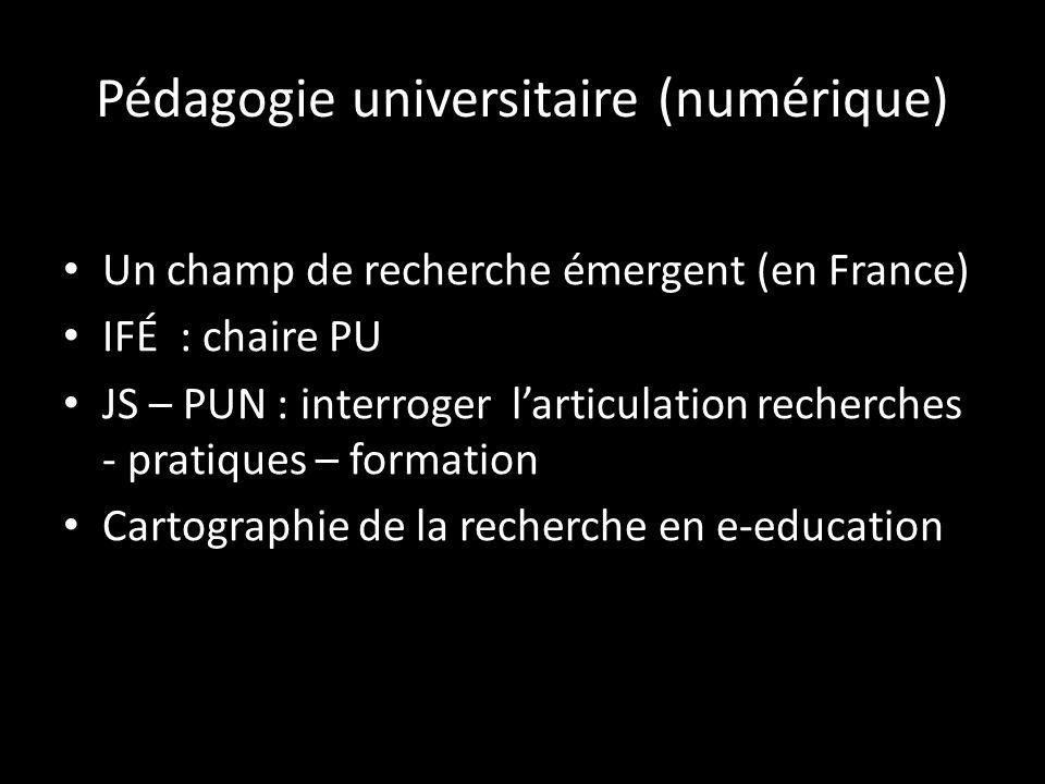 Pédagogie universitaire (numérique)