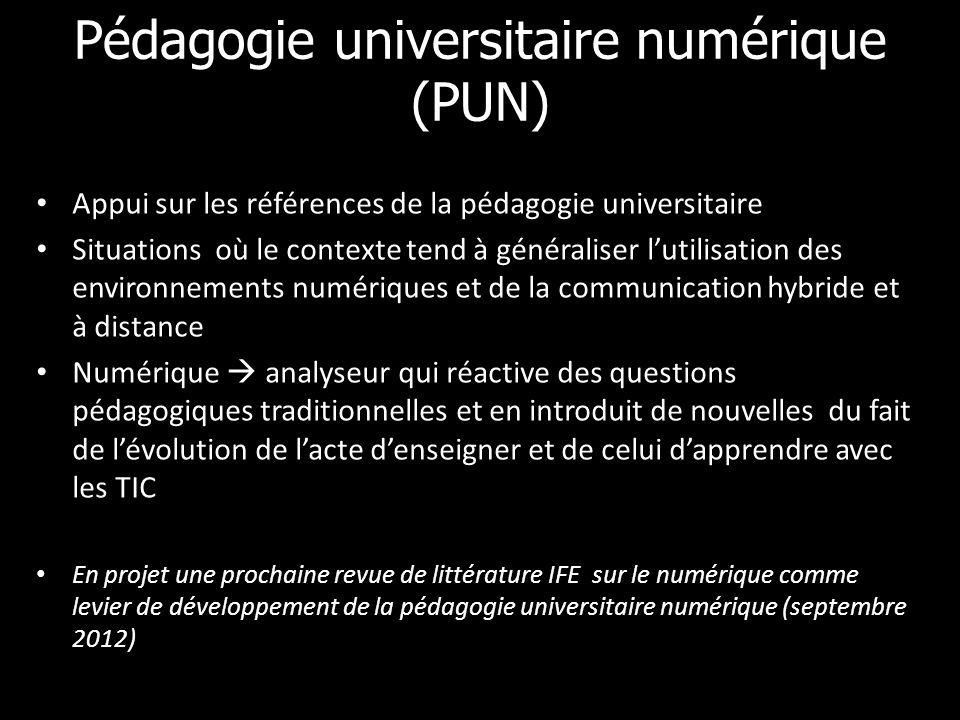 Pédagogie universitaire numérique (PUN)
