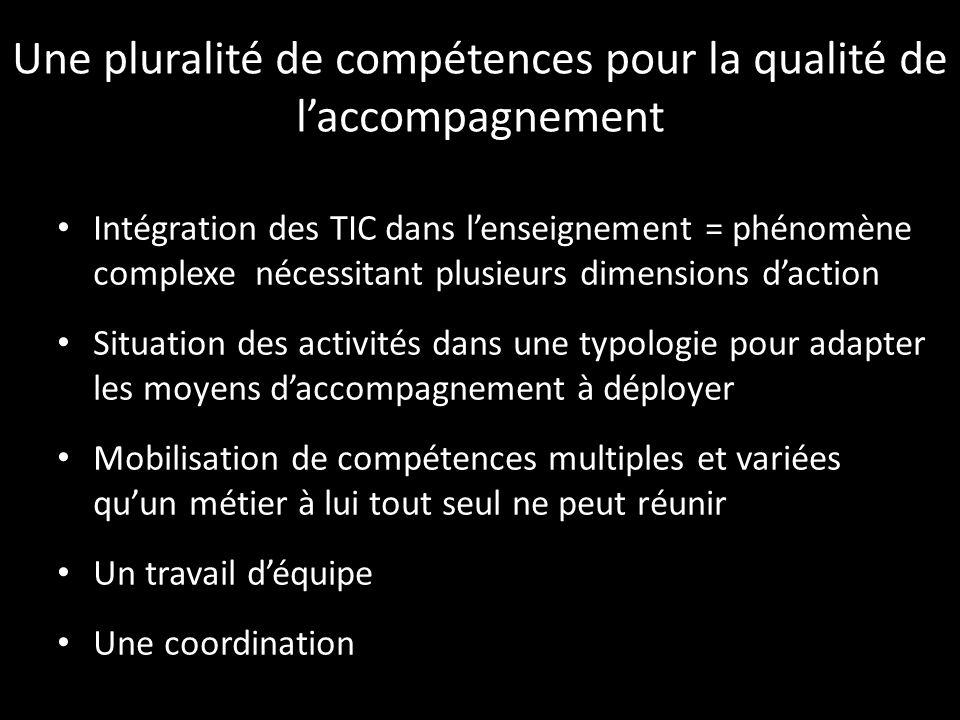 Une pluralité de compétences pour la qualité de l'accompagnement