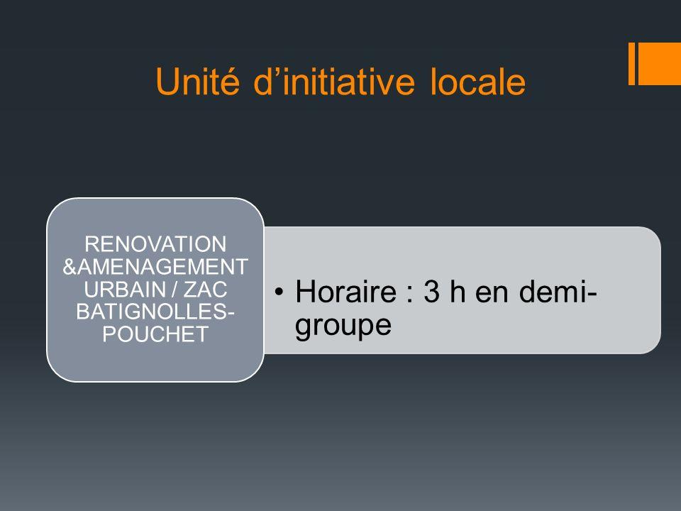 Unité d'initiative locale