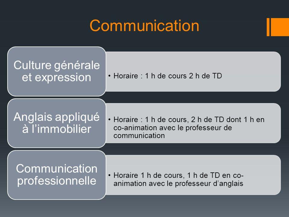 Communication Culture générale et expression