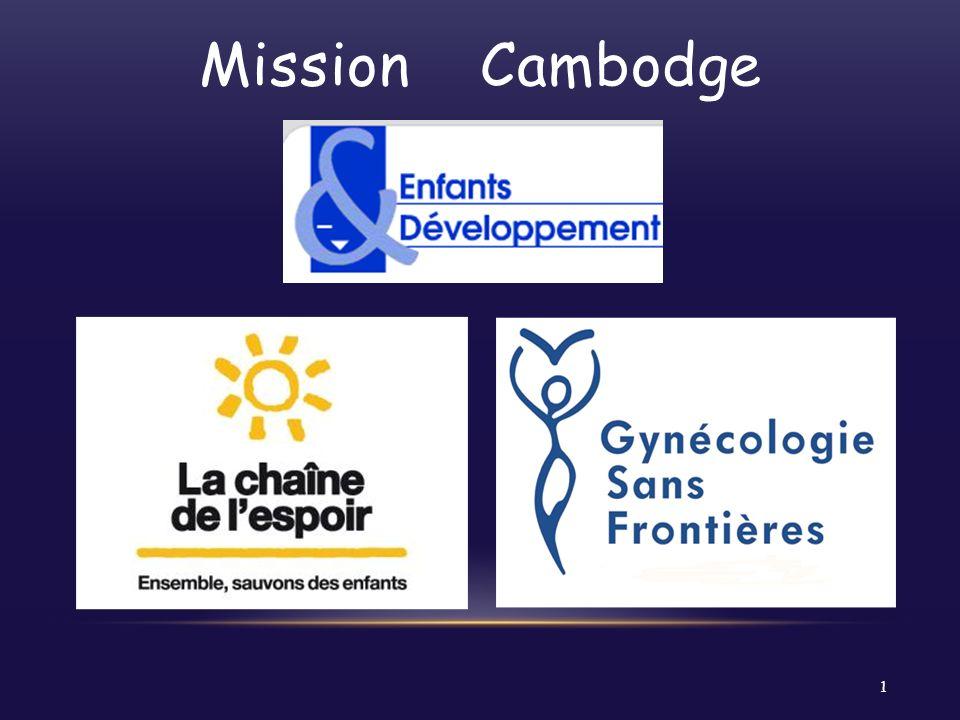Mission Cambodge