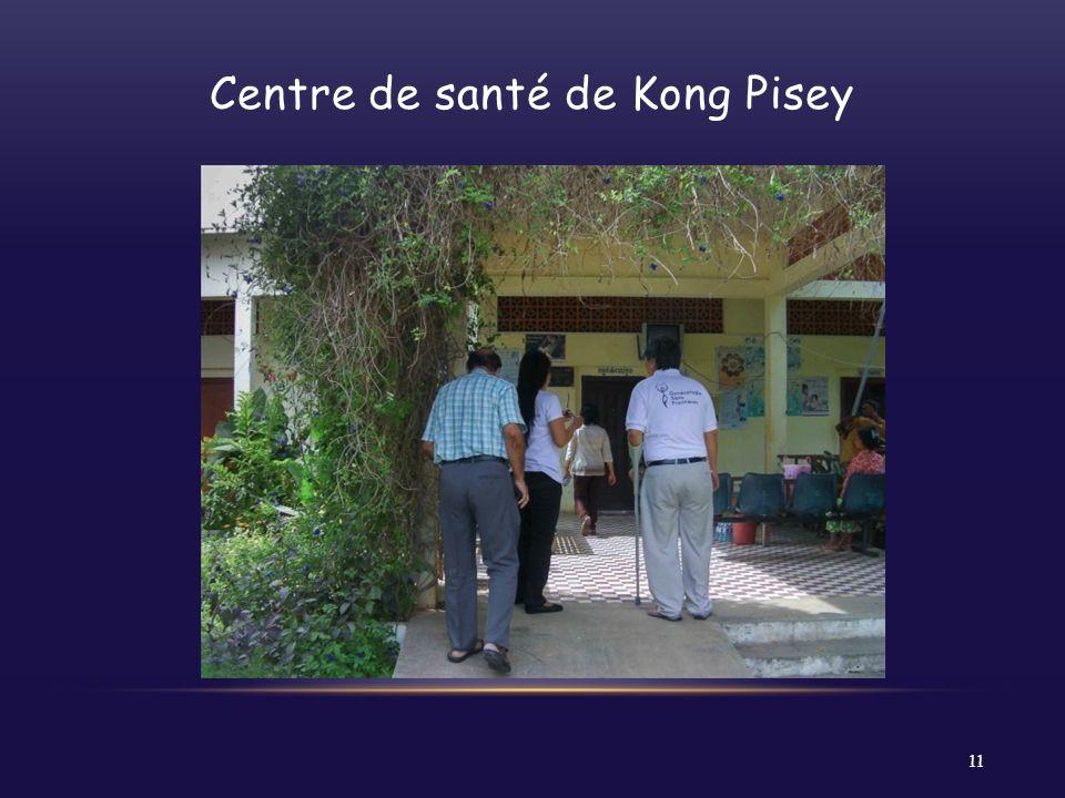 Centre de santé de Kong Pisey