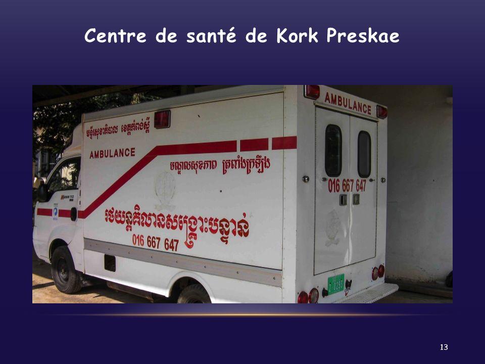 Centre de santé de Kork Preskae
