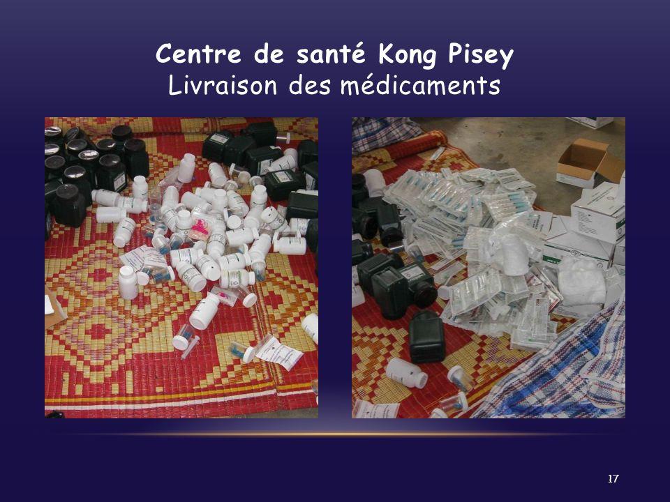 Centre de santé Kong Pisey Livraison des médicaments