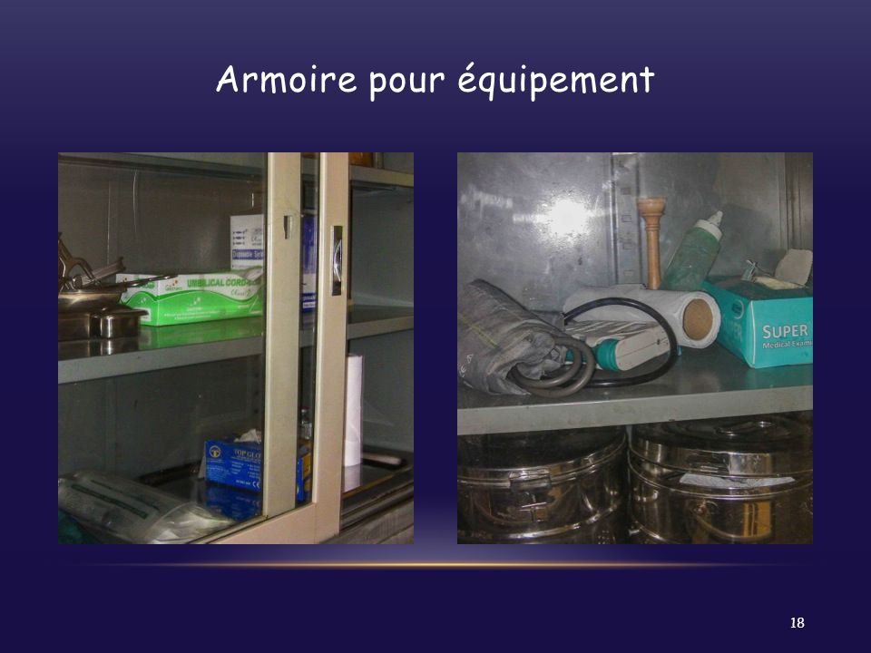Armoire pour équipement