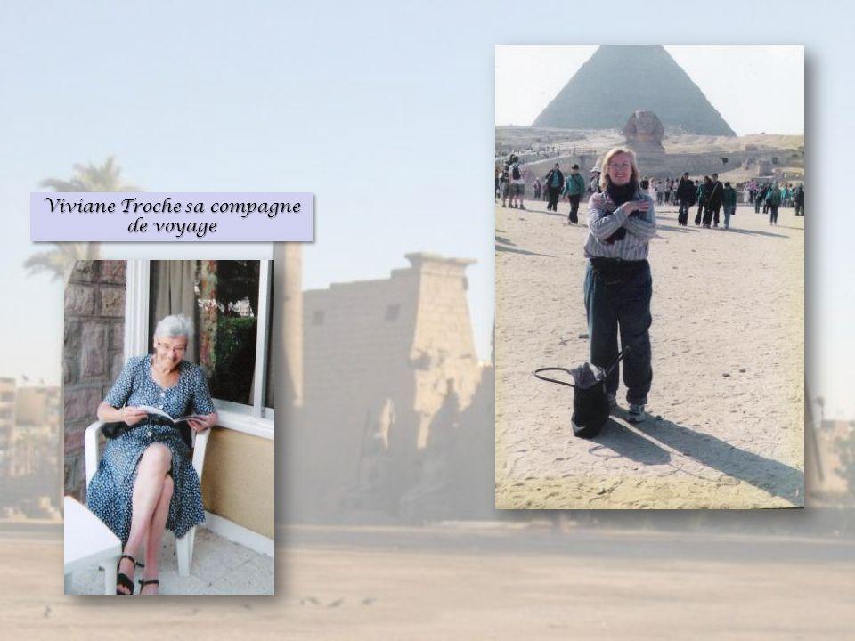 Viviane Troche sa compagne de voyage