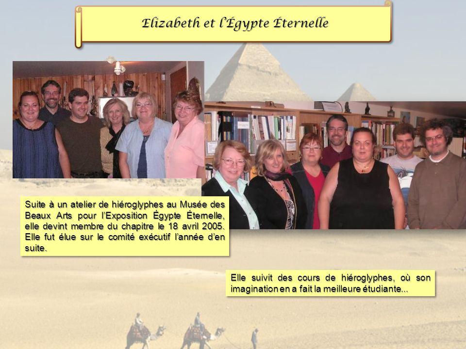 Elizabeth et l'Égypte Éternelle