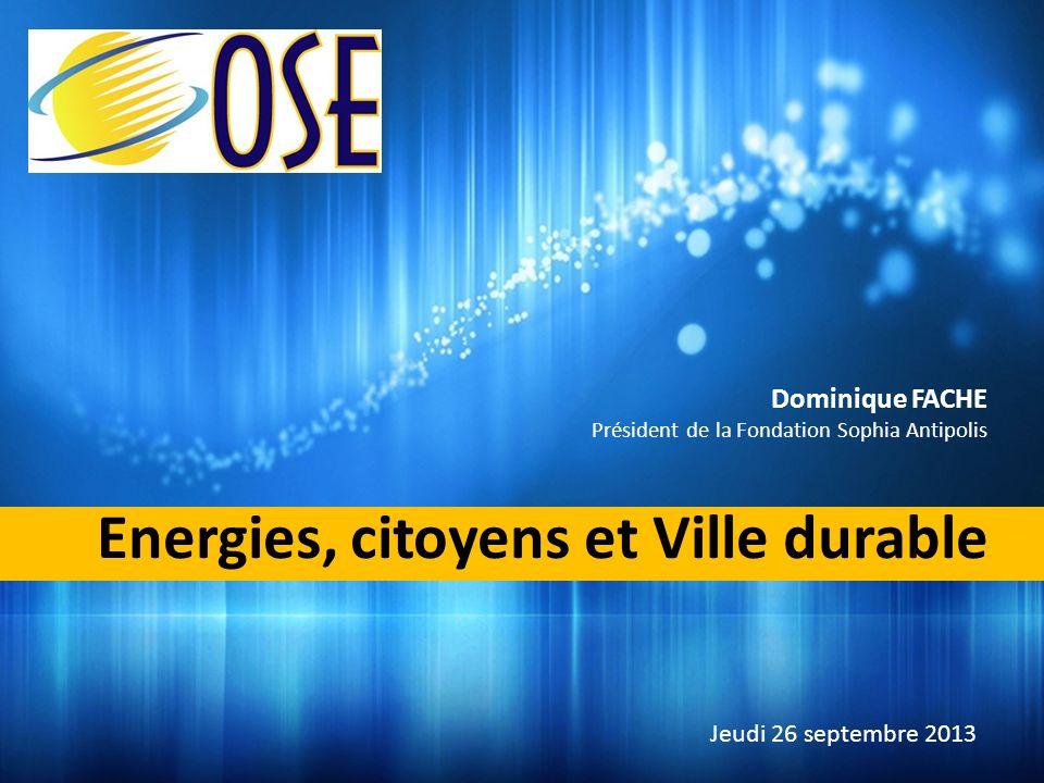 Energies, citoyens et Ville durable
