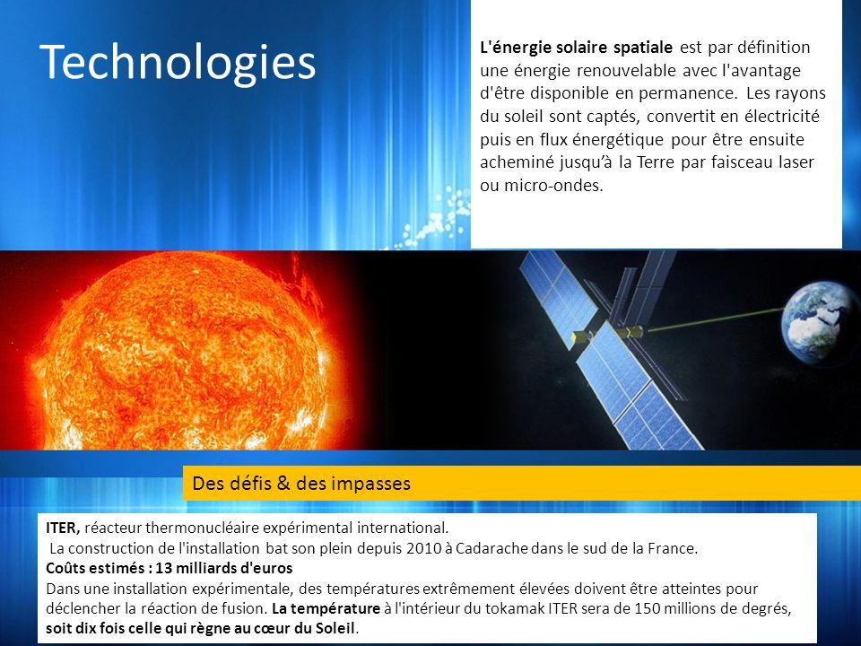 Technologies Des défis & des impasses