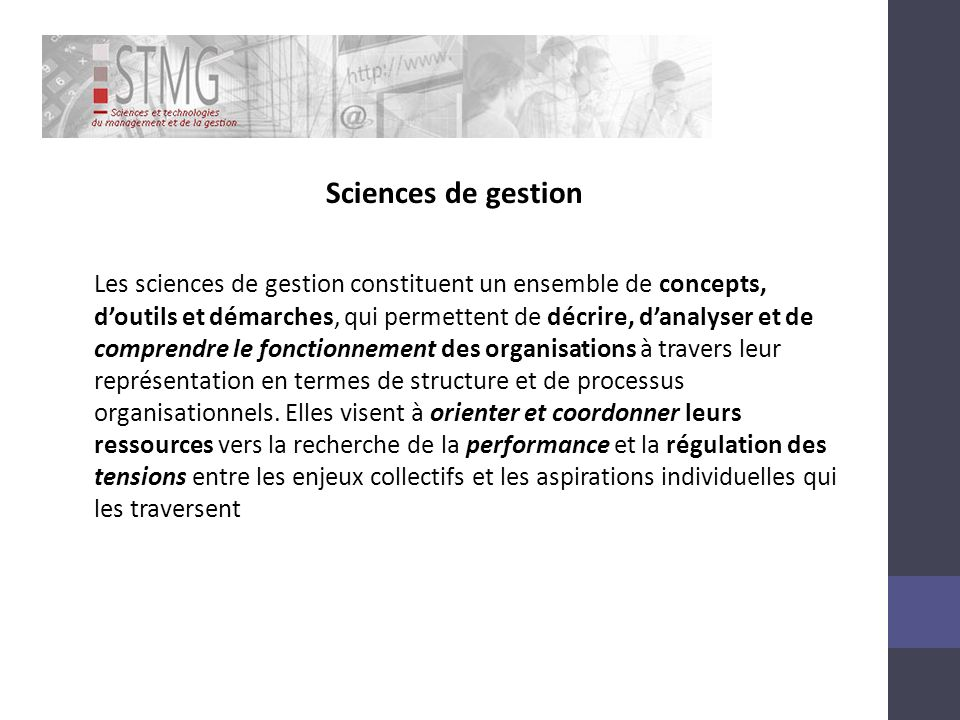 Sciences de gestion