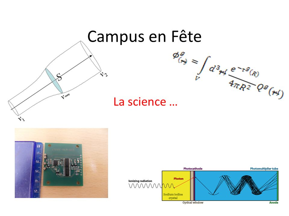 Campus en Fête La science …