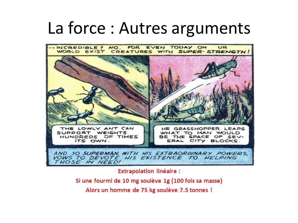 La force : Autres arguments