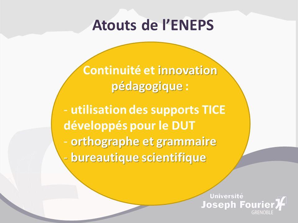 Continuité et innovation pédagogique :
