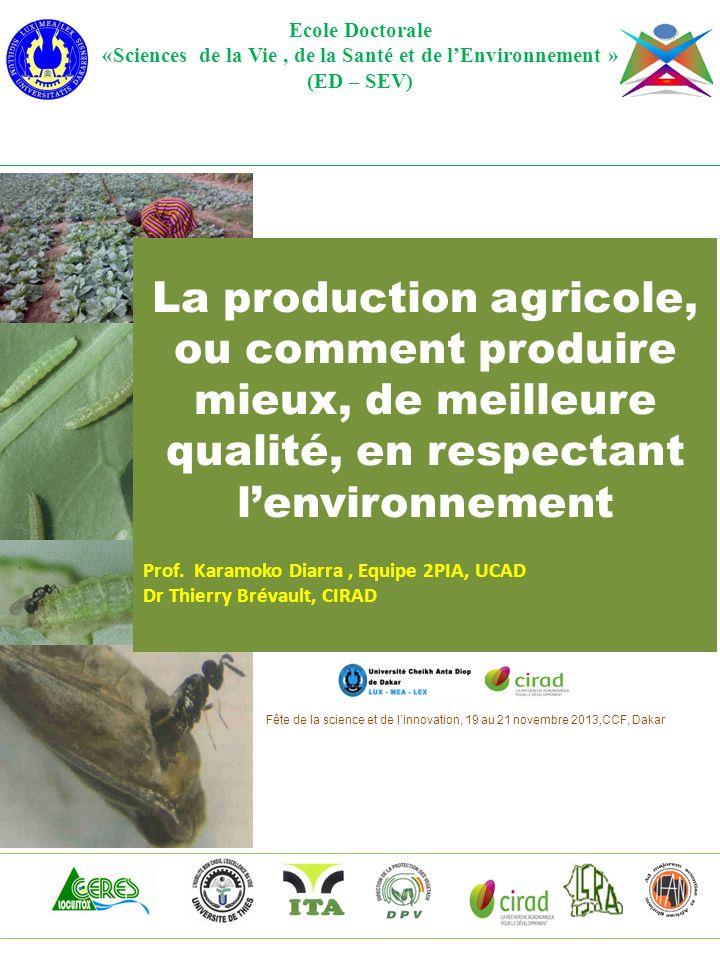 «Sciences de la Vie , de la Santé et de l'Environnement »
