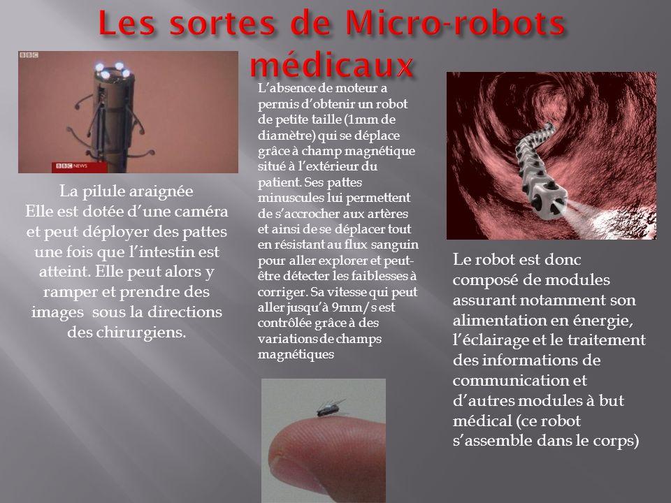 Les sortes de Micro-robots médicaux