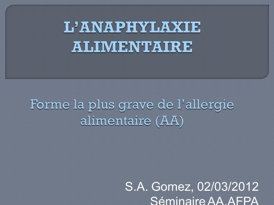 S.A. Gomez, 02/03/2012 Séminaire AA,AFPA