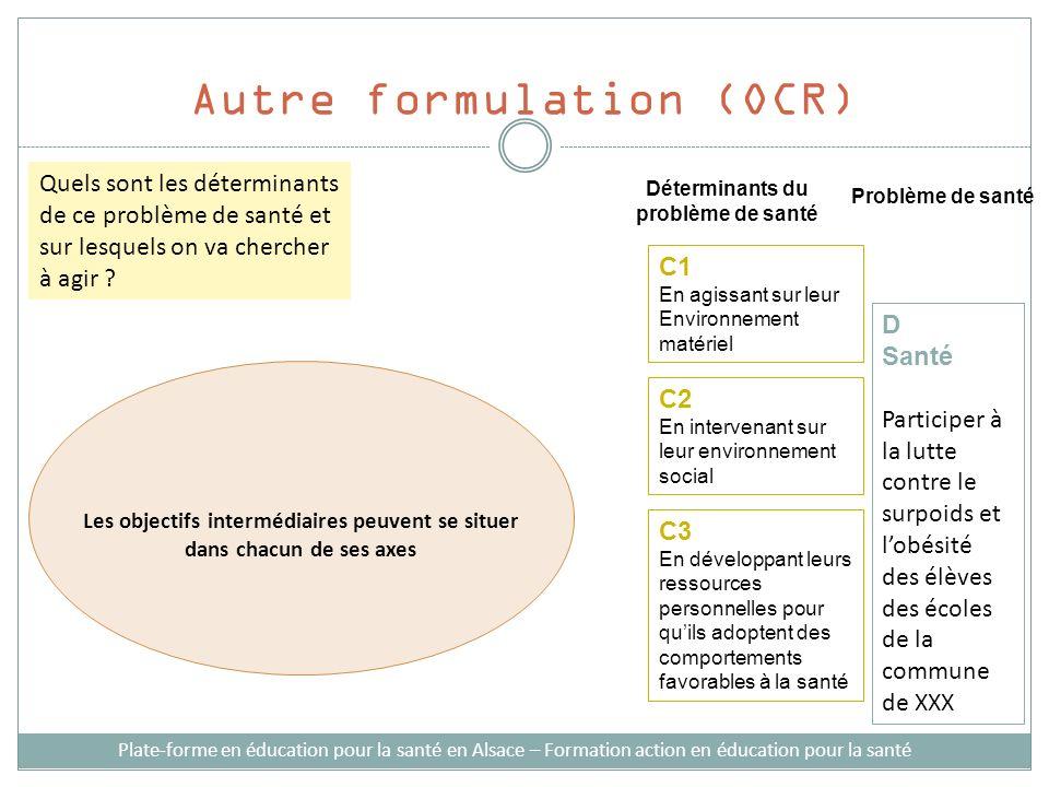 Autre formulation (OCR)