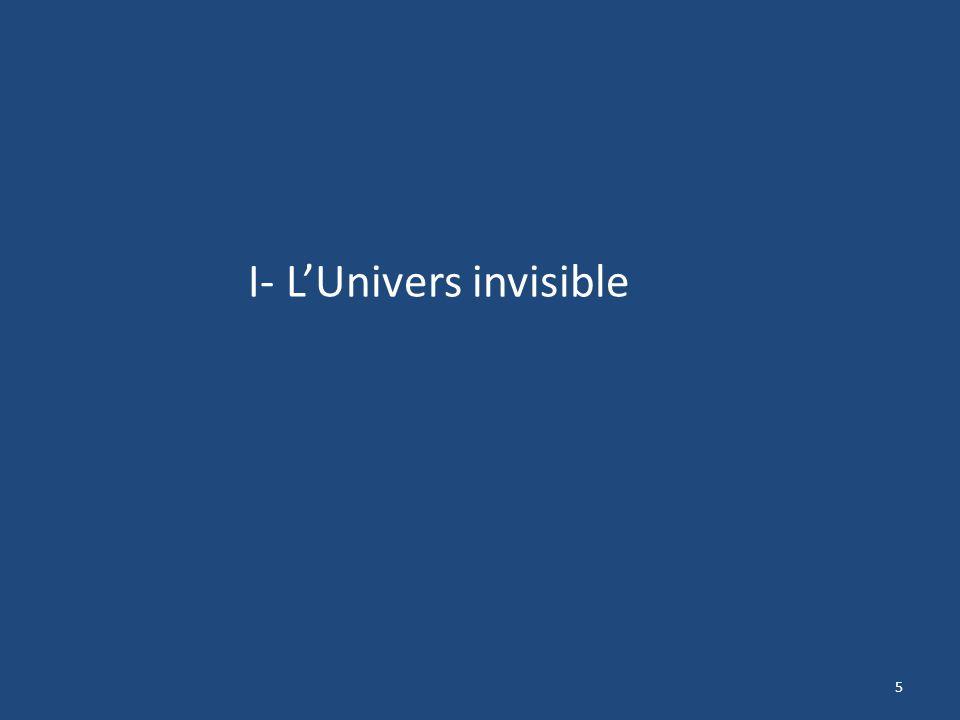 I- L'Univers invisible