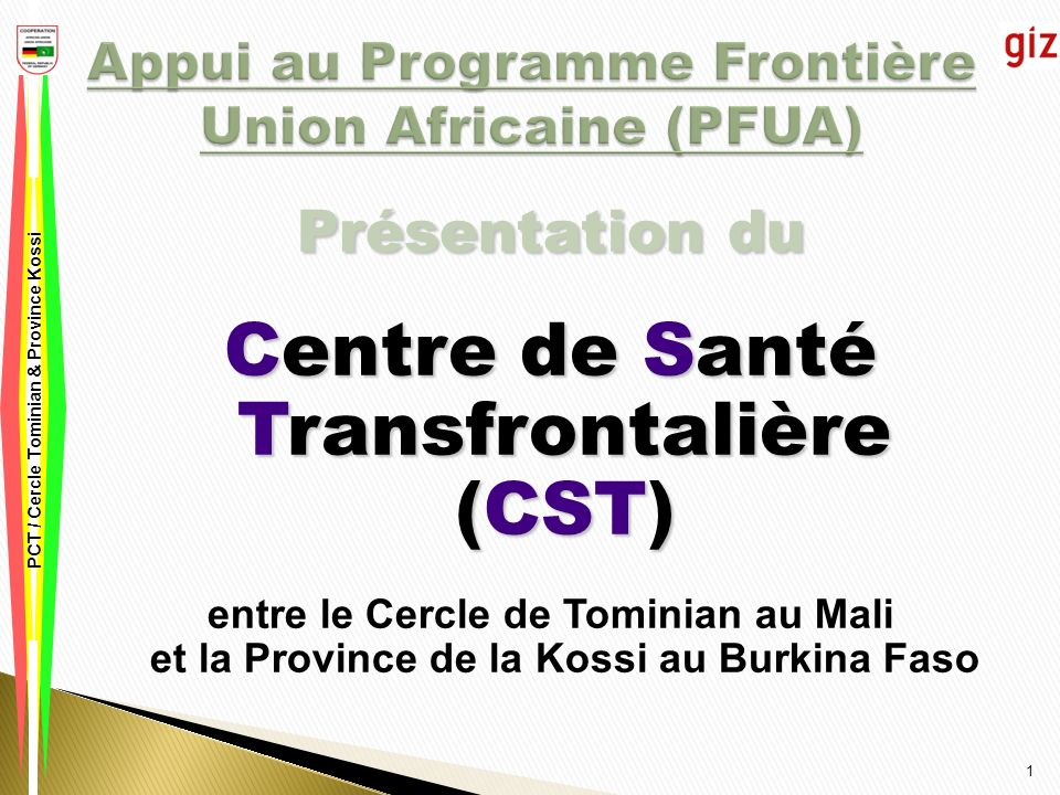Appui au Programme Frontière Union Africaine (PFUA)