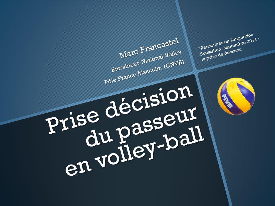 Prise décision du passeur en volley-ball