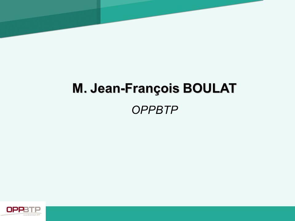 M. Jean-François BOULAT