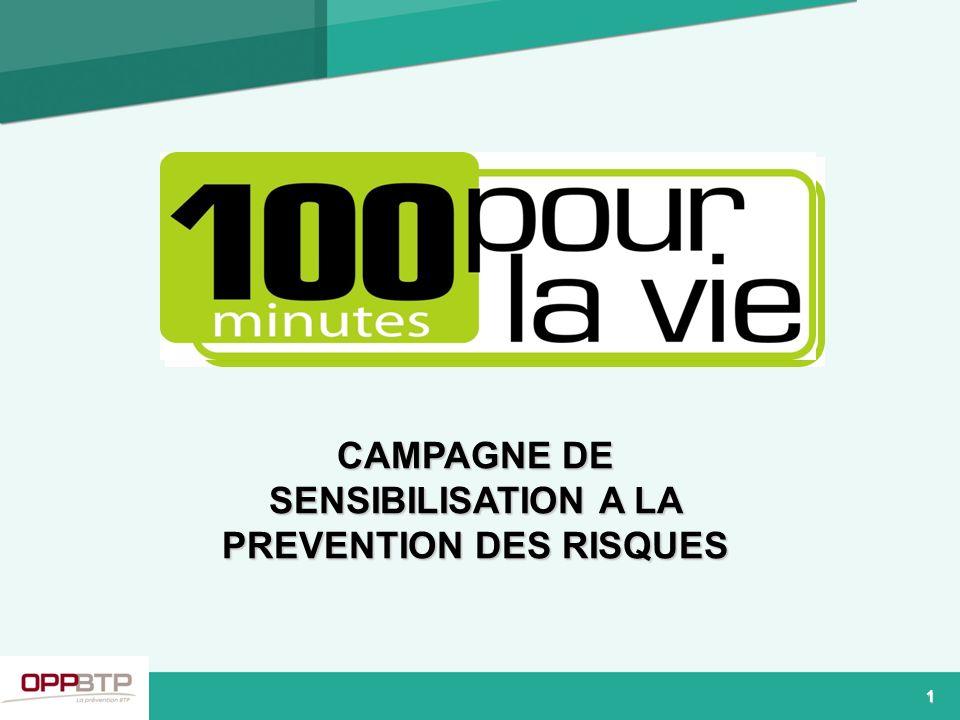 CAMPAGNE DE SENSIBILISATION A LA PREVENTION DES RISQUES