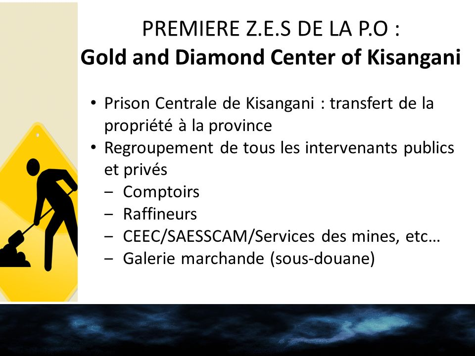 Gold and Diamond Center of Kisangani