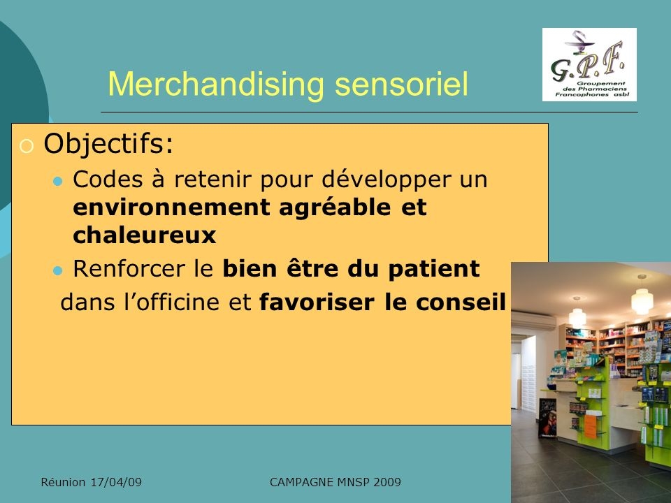 Merchandising sensoriel